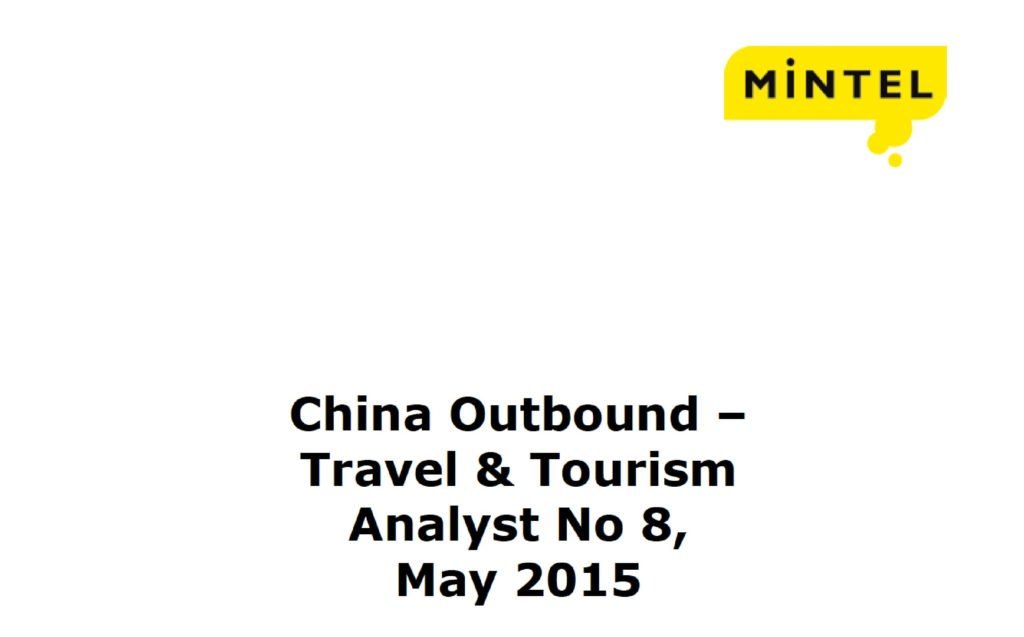 China Outbound - Travel & Tourism